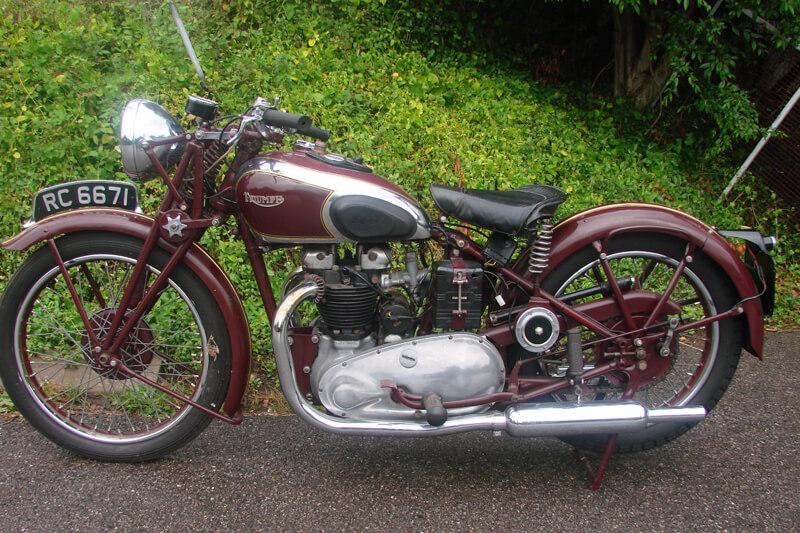 TRIUMPH 5T SPEED TWIN (1938)