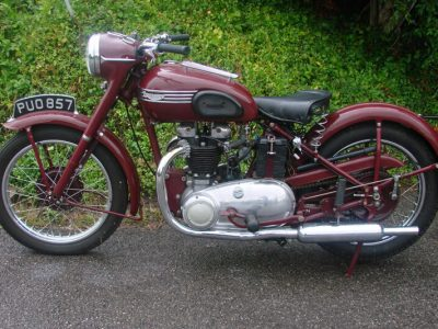 TRIUMPH 5T SPEED TWIN (1954) - Price reduction