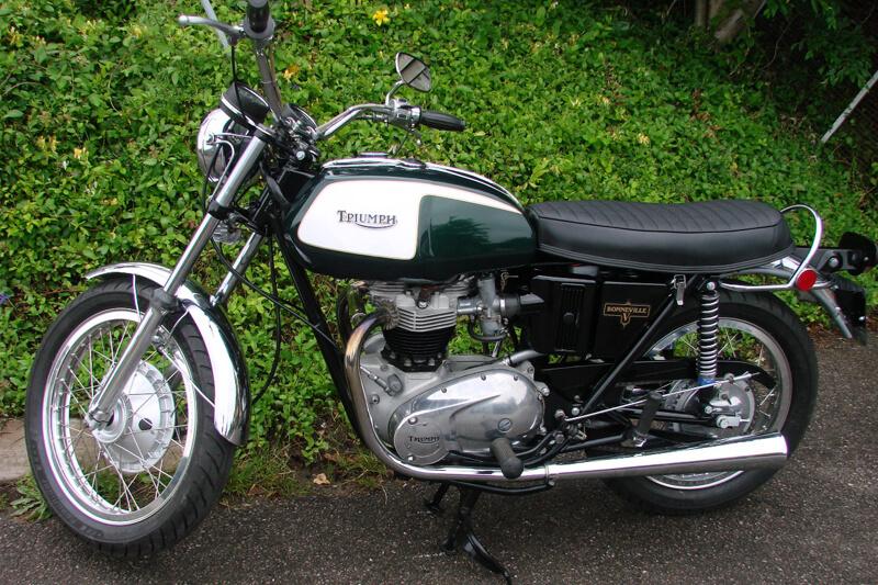 TRIUMPH T120 BONNEVILLE 650 - Price reduction