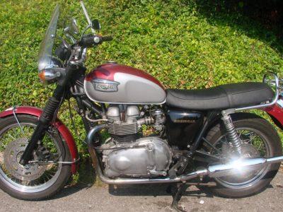 2002 TRIUMPH 790cc BONNEVILLE