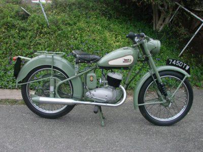1955 BSA BANTAM125 – D1