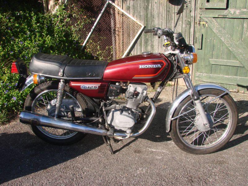 1982 HONDA CG125