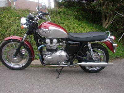 2001 TRIUMPH BONNEVILLE 790