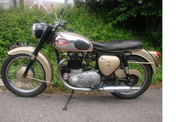 1961 BSA A10 GOLD FLASH 650
