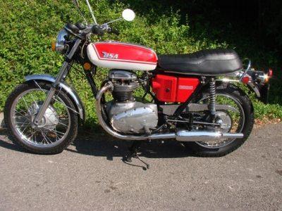 1971 BSA 650 THUNDERBOLT