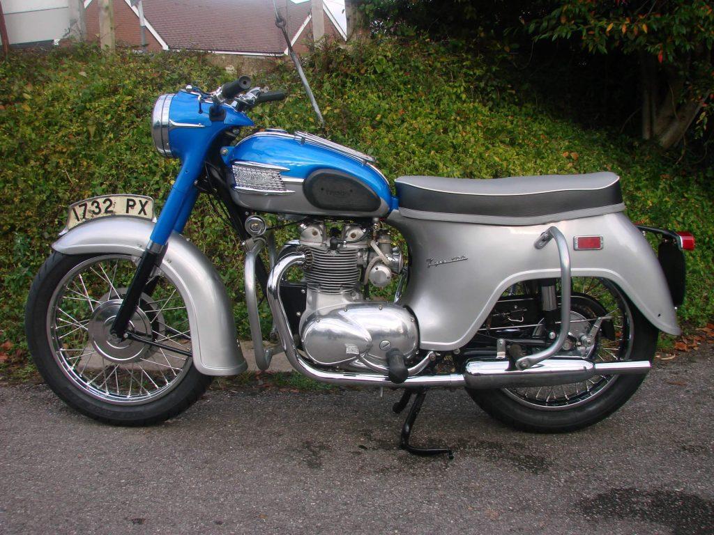 Triumph T100A after