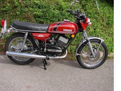1975 YAMAHA RD250 B
