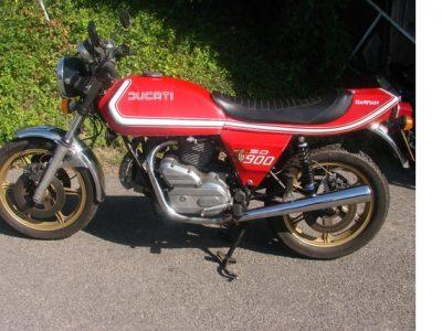 1977 DUCATI DARMAH 900 SD