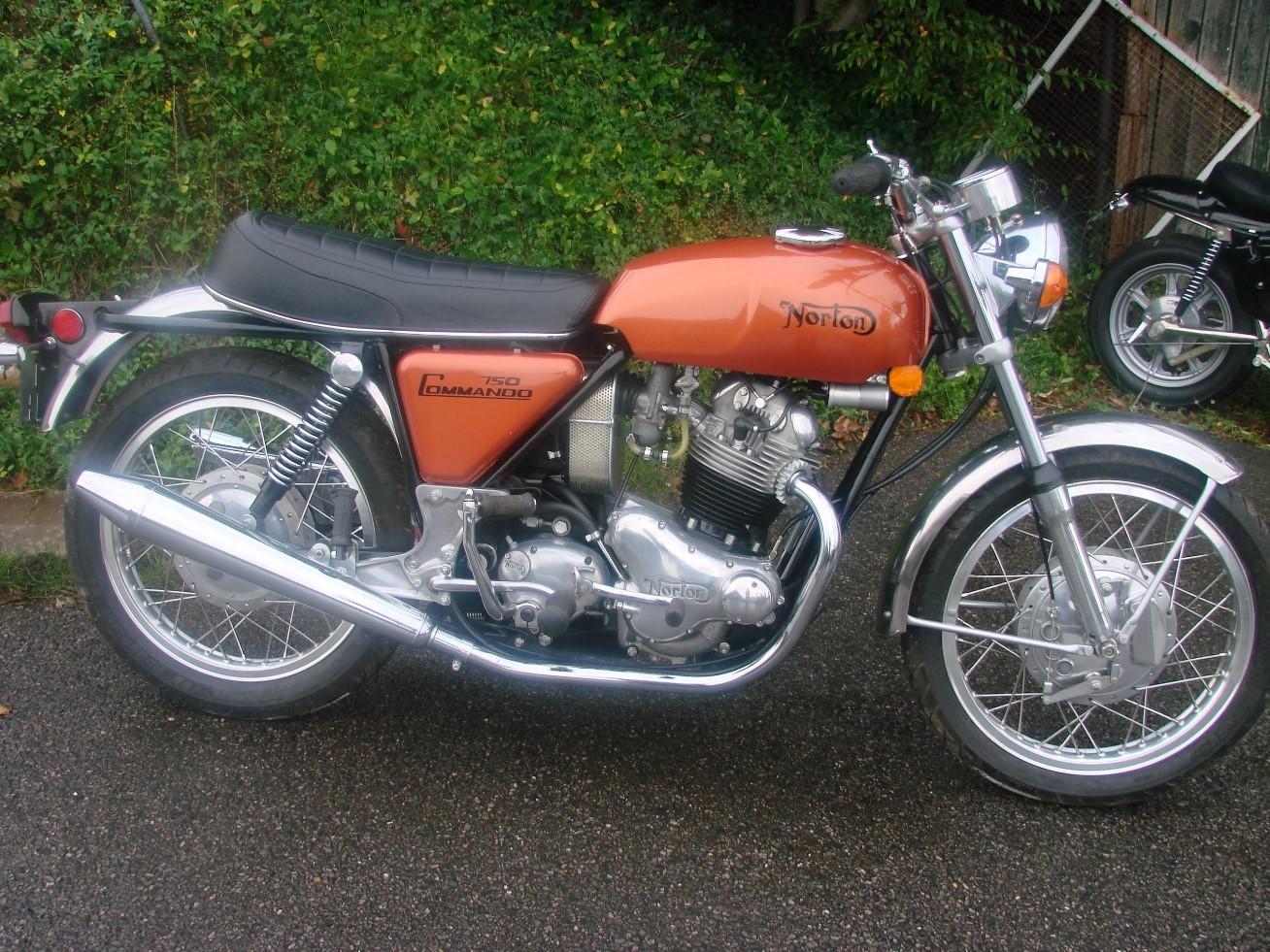 1970 Norton 750 Commando Bol D Or Motorcycles