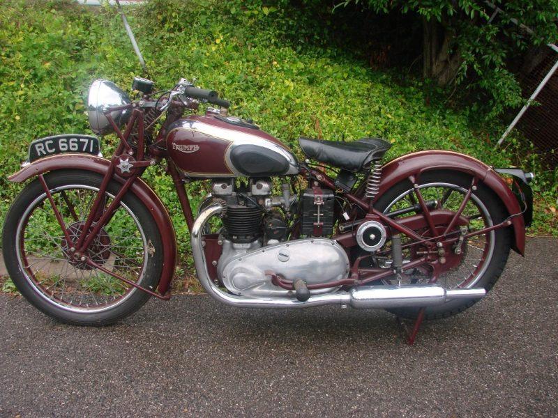 1938 TRIUMPH 5T SPEED TWIN