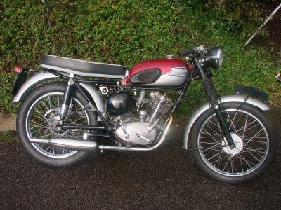 1962 TRIUMPH T20 S/H SPORTS CUB 200 cc