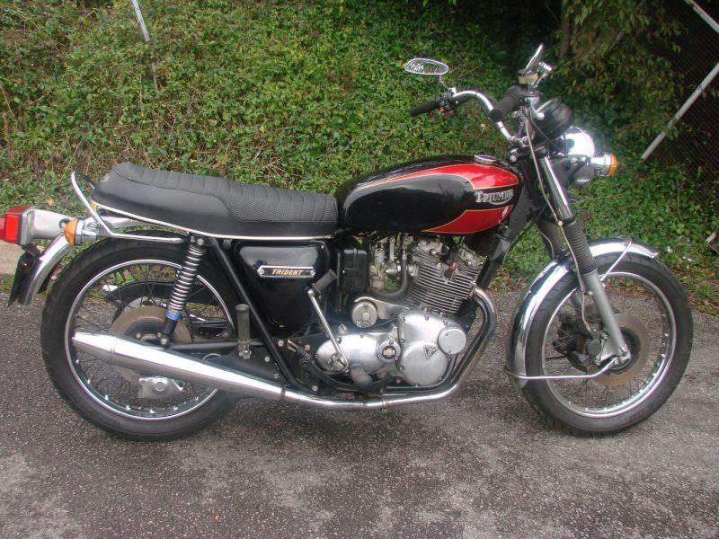 1975 TRIUMPH T160 TRIDENT