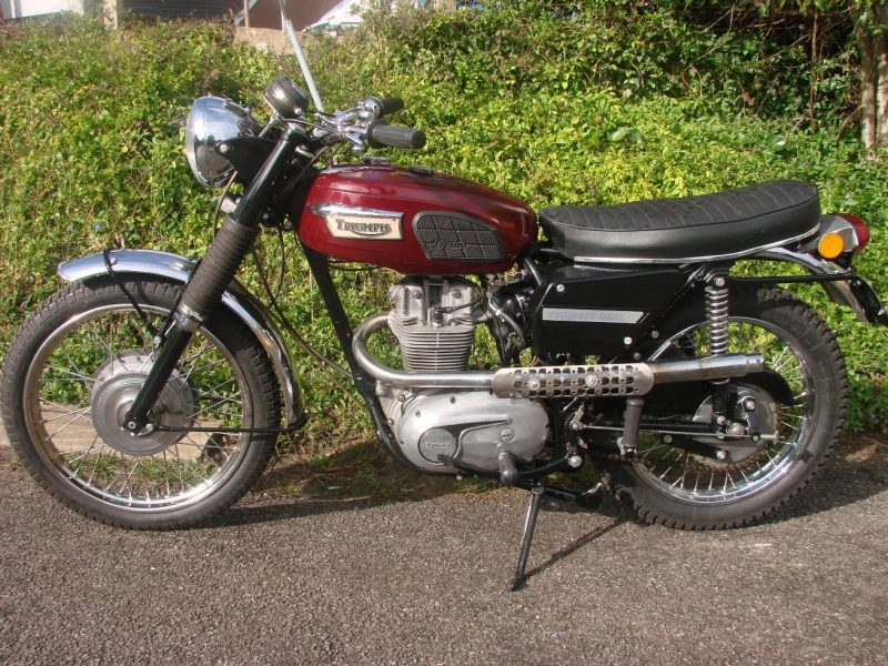 1970 TRIUMPH 250 TROPHY