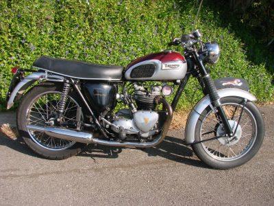 1960 TRIUMPH T100 S