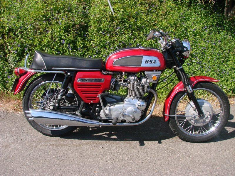 1969 BSA ROCKET 111