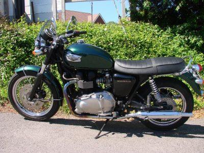 2007 TRIUMPH BONNEVILLE 900