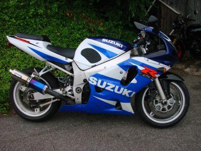 2002 SUZUKI GSXR 600 K1